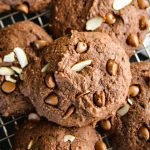 Easy Chocolate Almond Ricotta Cookies