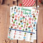 Free Christmas I Spy Printable