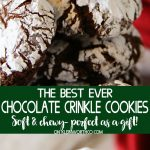 Easy Chocolate Crinkle Cookies recipe