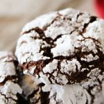 Easy Chocolate Crinkle Cookies