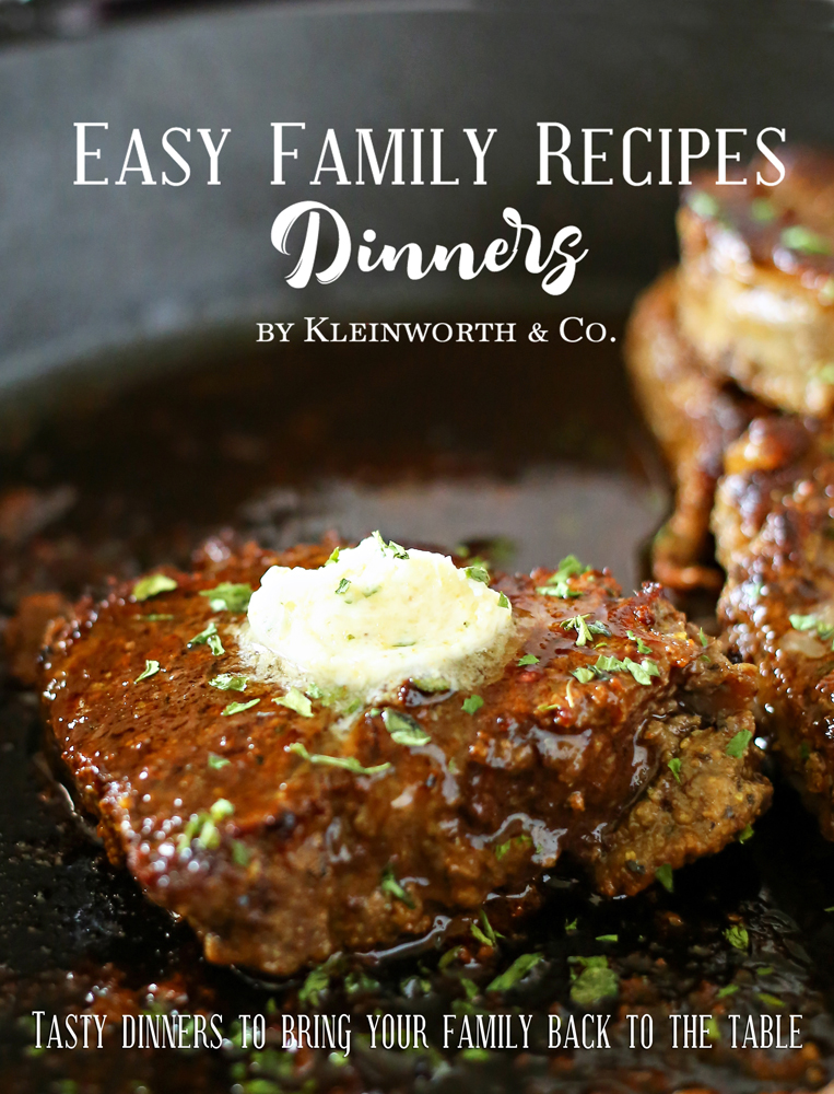Easy Family Recipes - Dinners