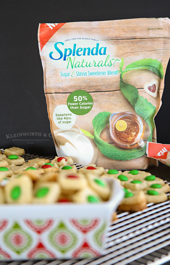 Cookies made with Splenda