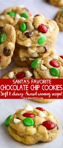 Santa's Favorite Chocolate Chip Cookies recipe