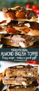 Traditional Almond English Toffee recipe