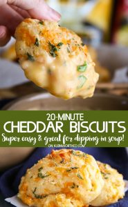 Cozy Soup & 20-Minute Cheddar Biscuits
