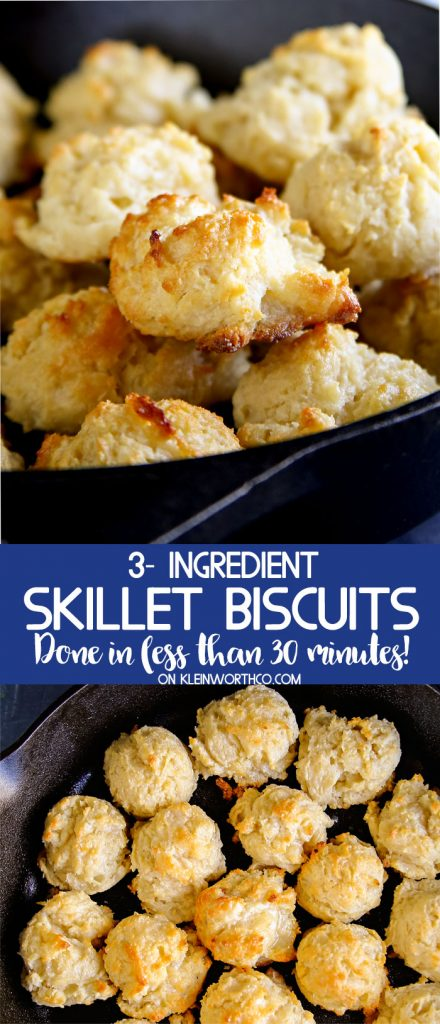 How to make Skillet Biscuits