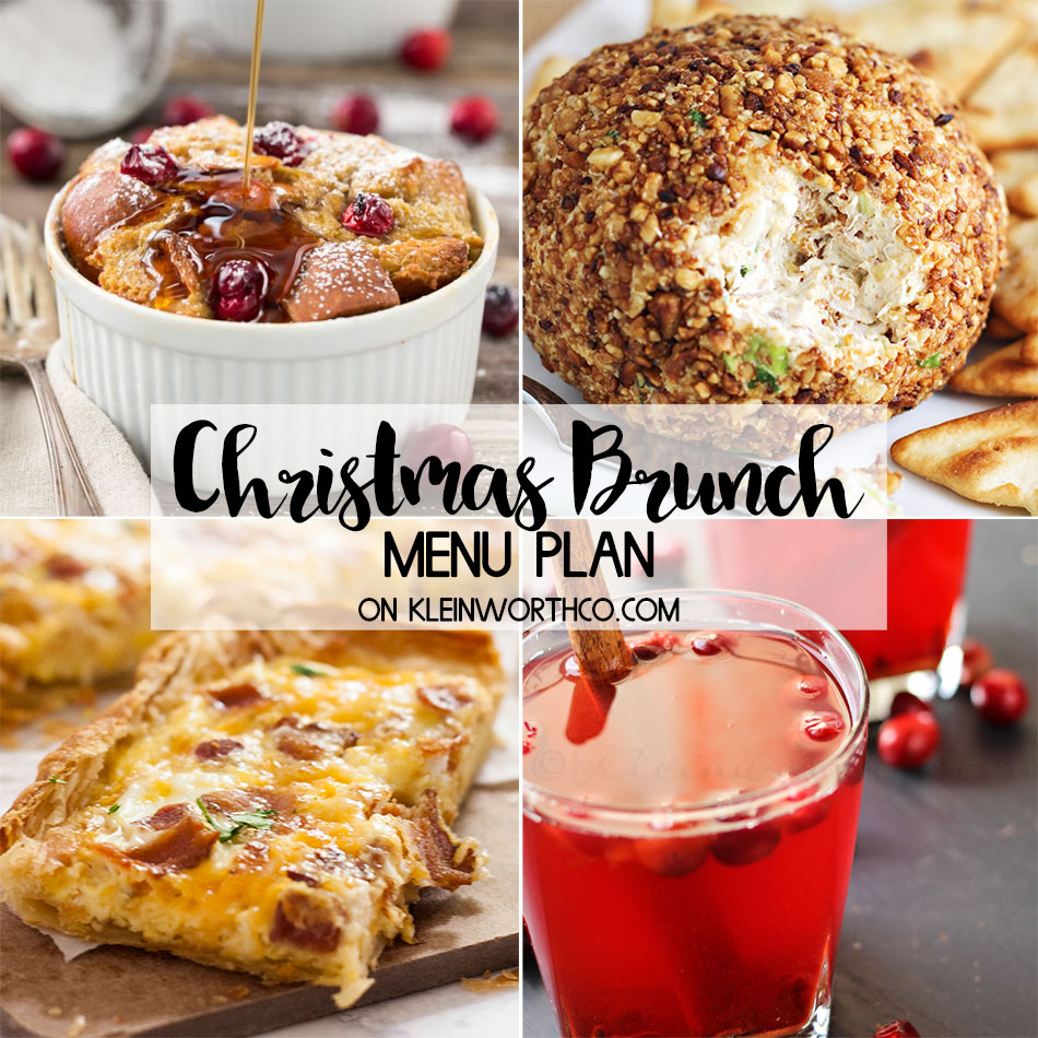 christmas brunch menu plan kleinworth co