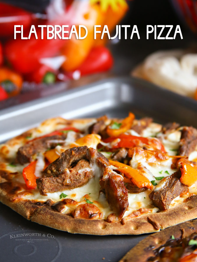 Flatbread Fajita Pizza