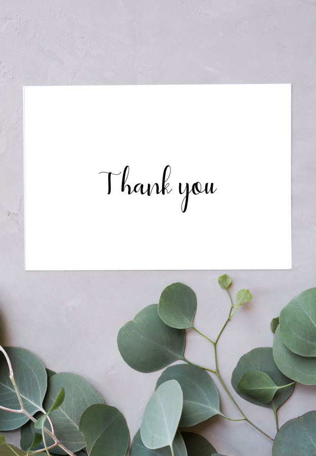 Thank You Cards - Free Printable