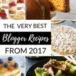 Absolute BEST Blogger Recipes from 2017