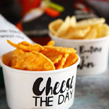 Funny Decorated Party Cups for Chips