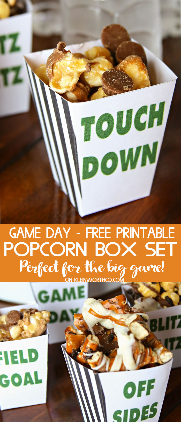 Game Day Popcorn Box Set