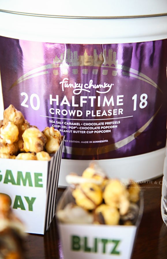 party snacks for the big game