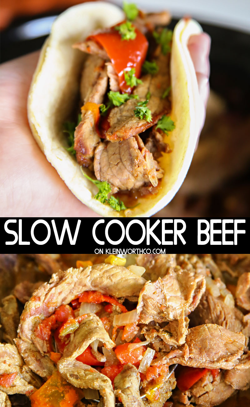 Slow Cooker Beef Tacos with TABASCO® Sauce Crema