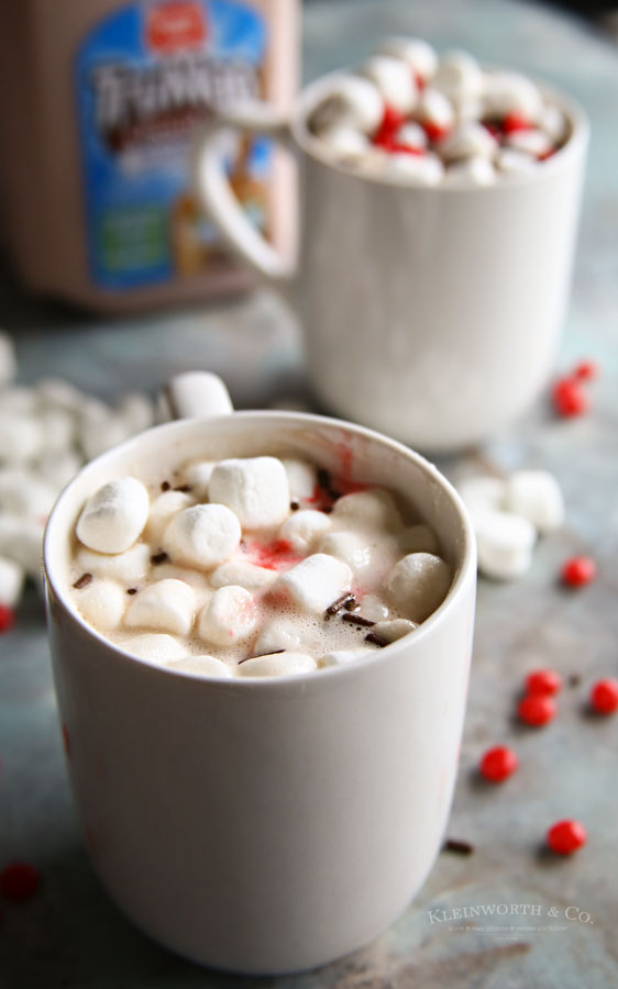 red hot hot chocolate