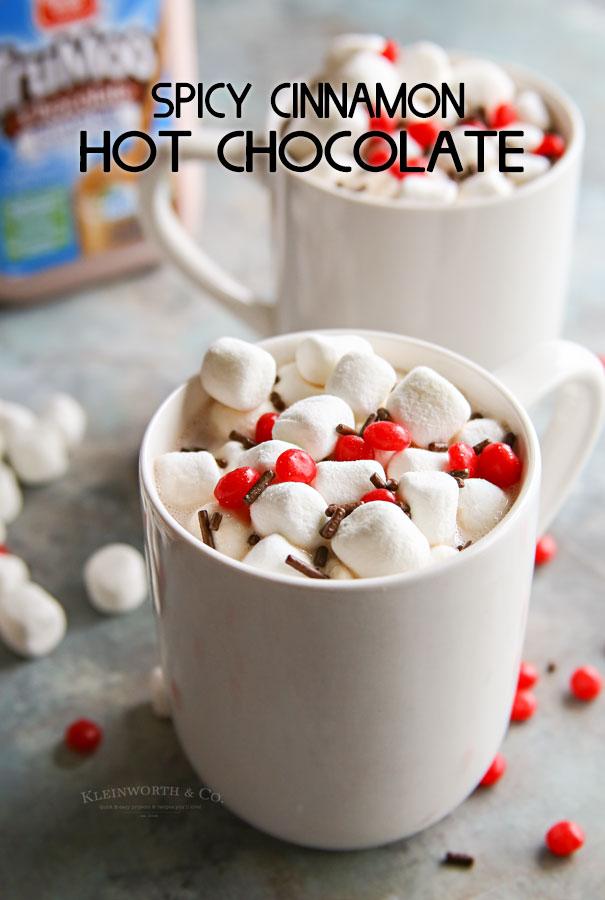 Spicy Cinnamon Hot Chocolate