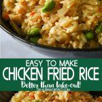 Chicken Fried Rice Restaurant Style