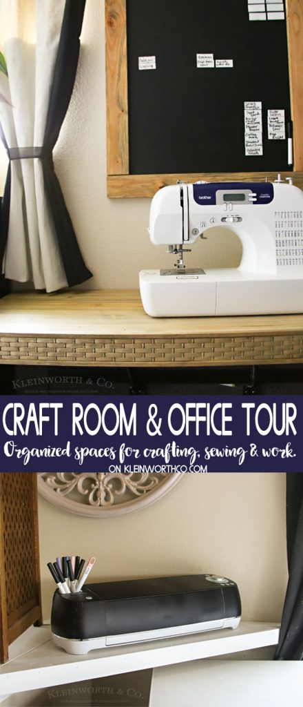 Craft Room & Office Tour 2018