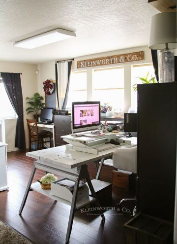 Craft Room & Office Ideas- Loft Space