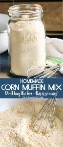 Homemade Corn Muffin Mix