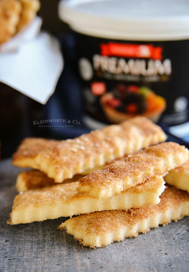 pie crust chip recipe