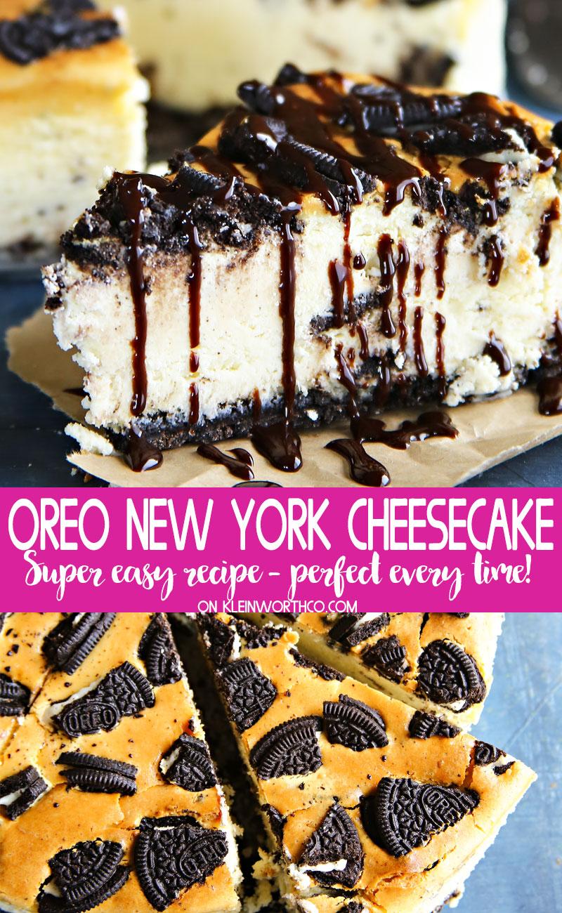 Oreo New York Cheesecake
