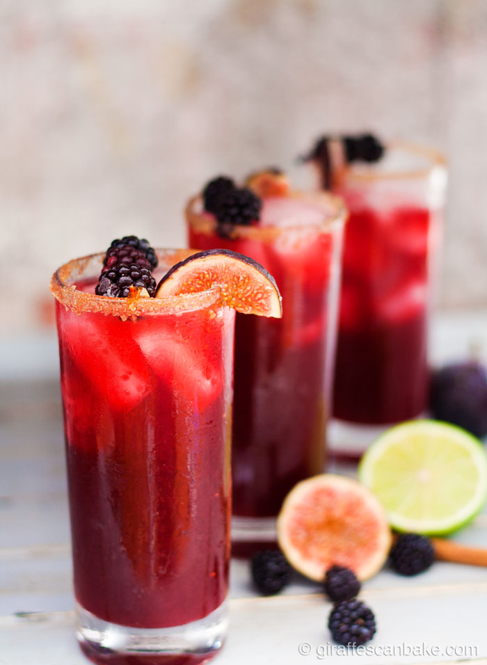 Blackberry, Cinnamon and Fig Margarita