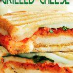 Chicken Parmesan Grilled Cheese Sandwich