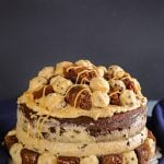 Cookie Dough Frosting – Brownie Cookie Dough Freak Cake