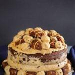 Cookie Dough Frosting - Brownie Cookie Dough Freak Cake