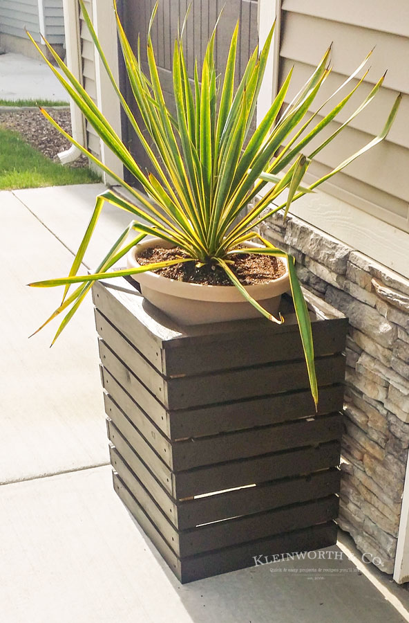 How to make DIY planter box