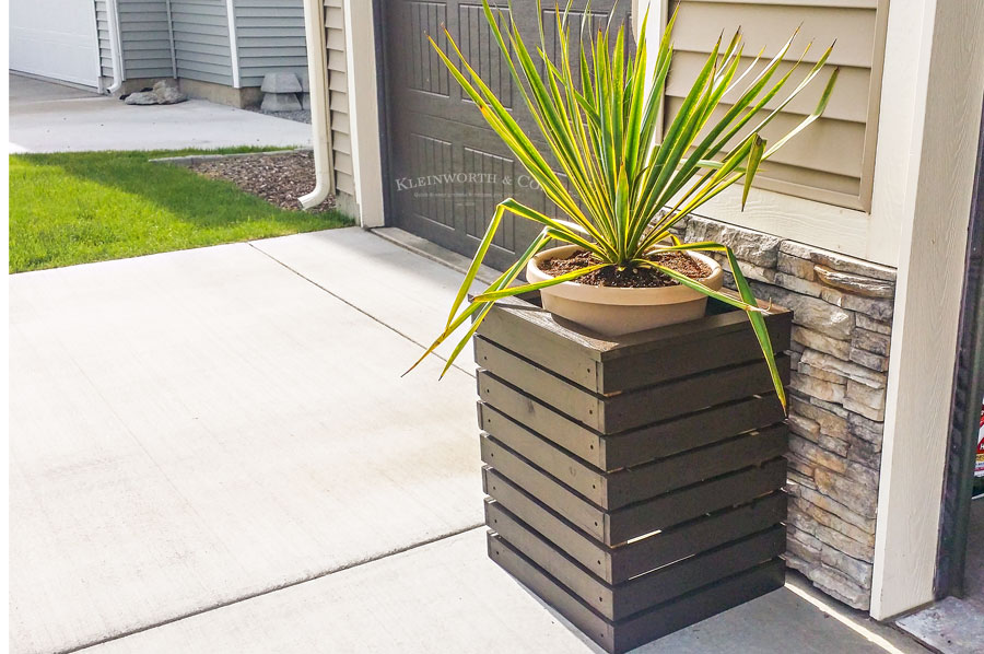 Modern Planter Boxes DIY Modern Planter Boxes