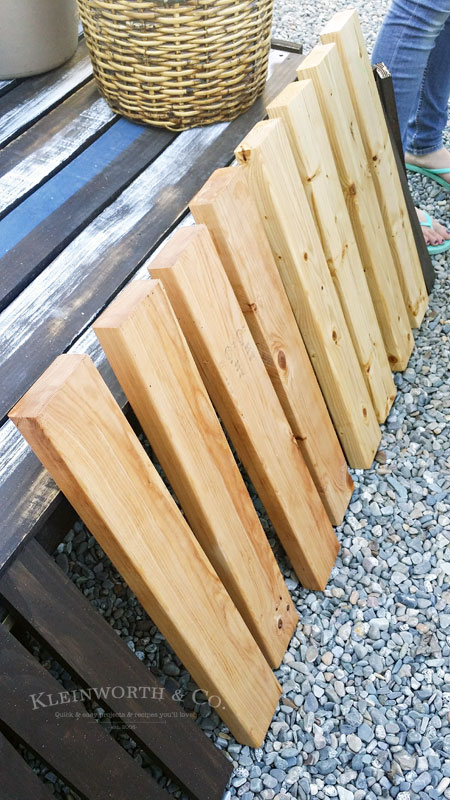 Building plans DIY Modern Planter Boxes