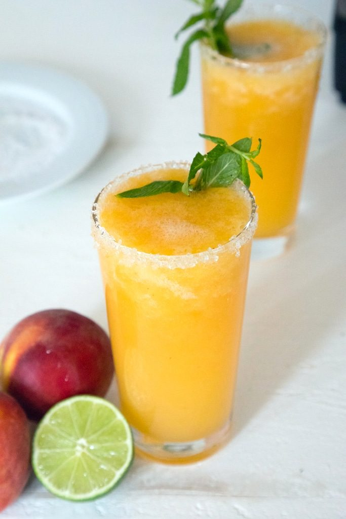 Frozen Peach Margarita