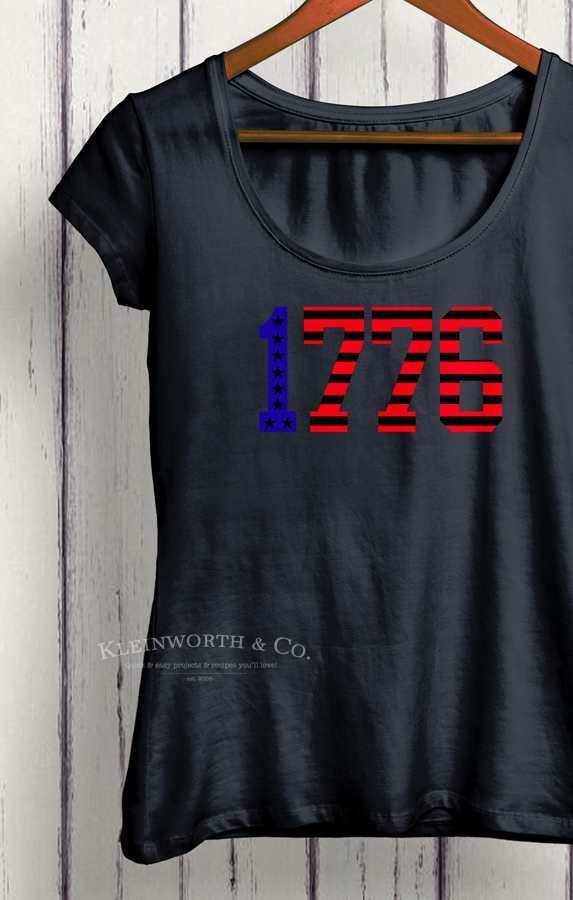 1776 Patriotic T-Shirt 4th of july