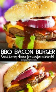 Steakhouse BBQ Bacon Burger