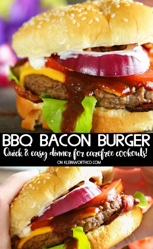 Steakhouse BBQ Bacon Burger