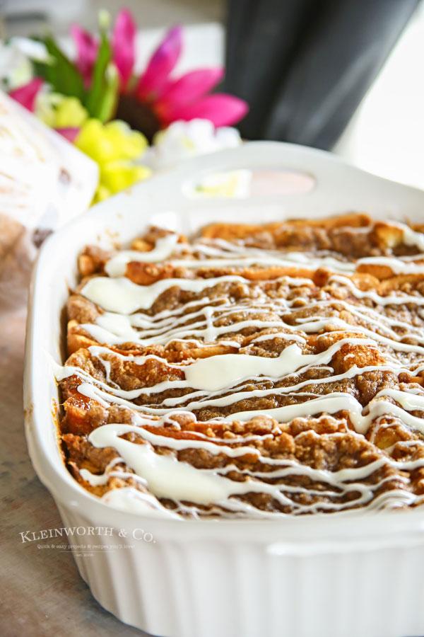 Cinnamon Roll French Toast Bake recipe