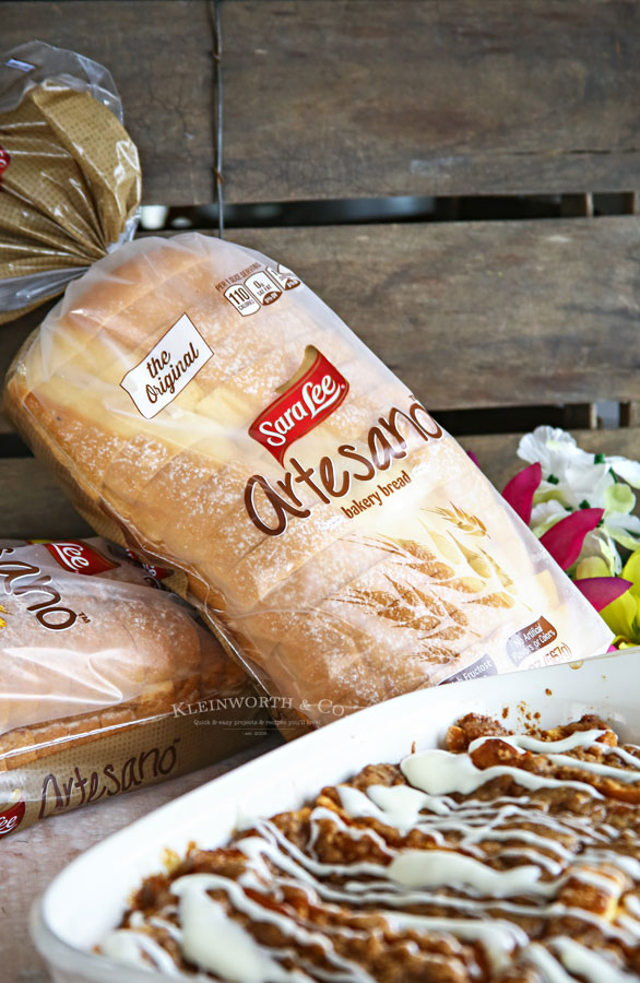 Sara Lee Bread -0Cinnamon Roll French Toast Bake