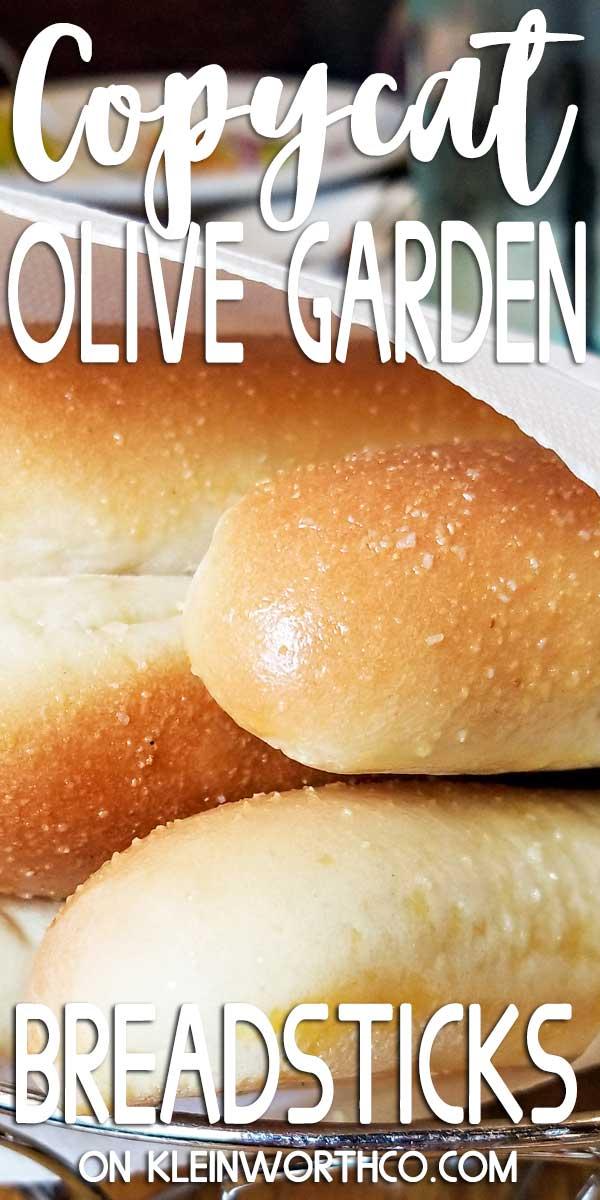 Copycat Olive Garden Breadsticks