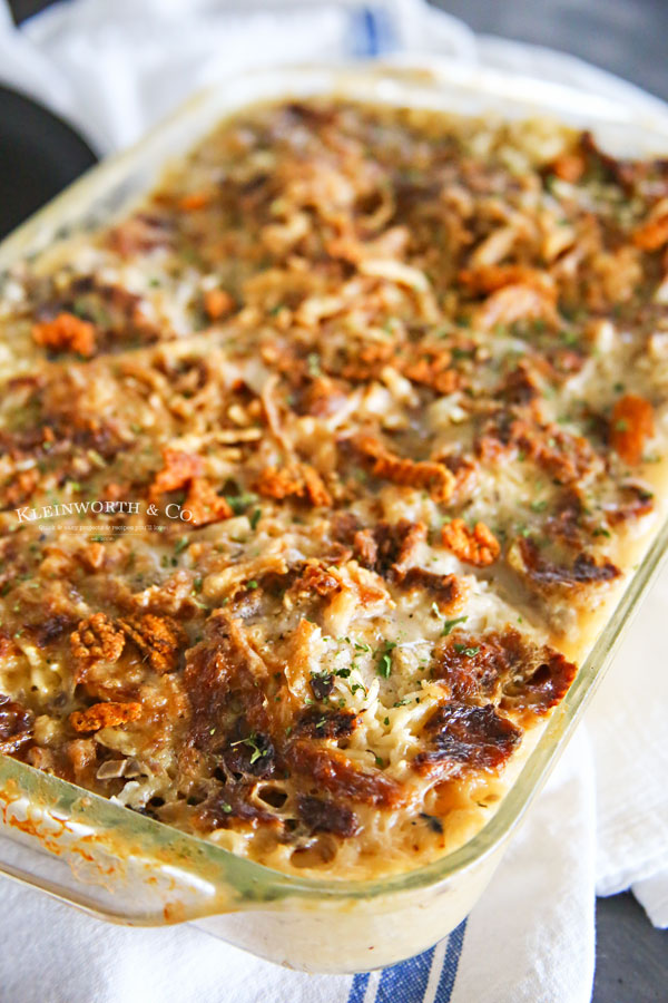 Chicken Recipe - Creamy Mushroom Chicken Bake