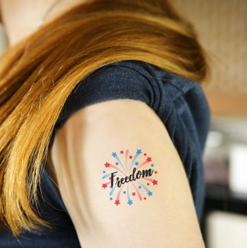 Memorial Day temporary tattoos
