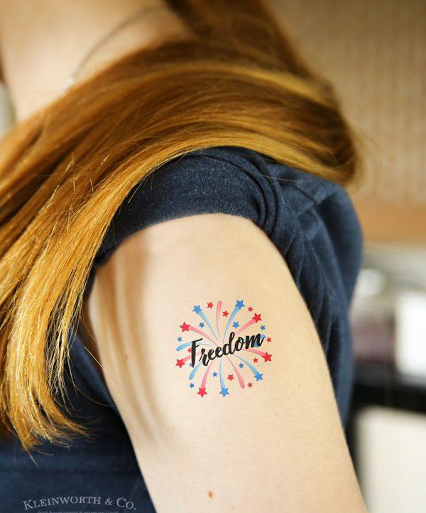 Memorial Day temporary tattoos