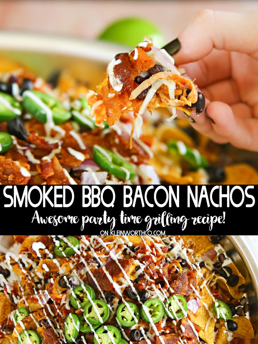 Smoked BBQ Bacon Nachos