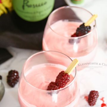 Blackberry Cream Mimosa