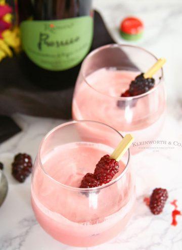 Blackberry Cream Mimosa - Sparkling Wine