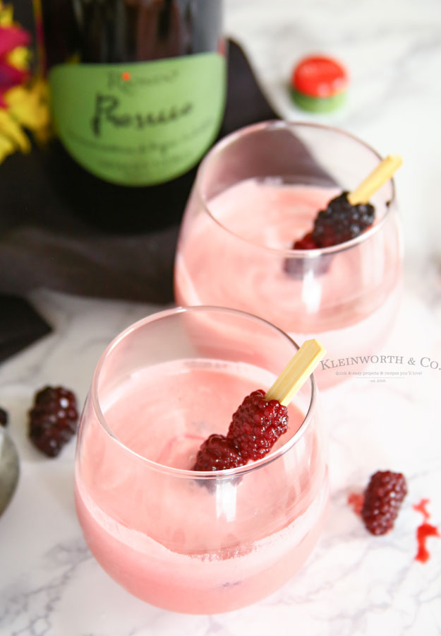 Blackberry Cream Mimosa - Sparkling Wine