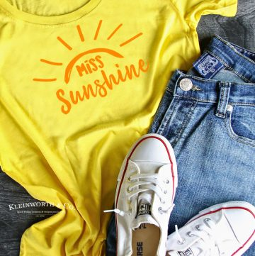 Miss Sunshine T-Shirt Iron-On
