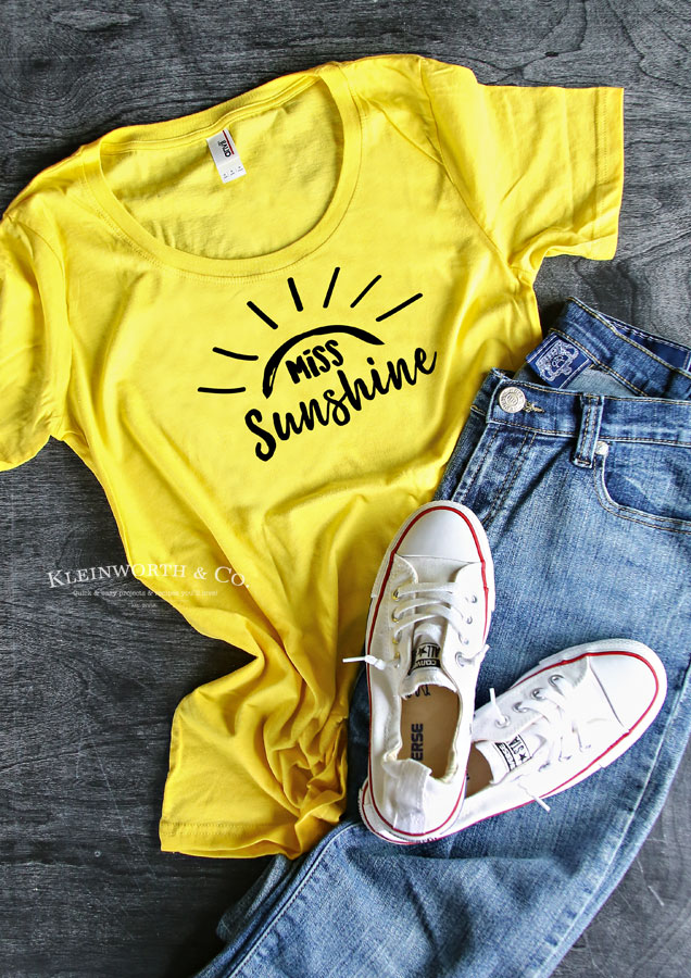 Cricut file image - Miss Sunshine
