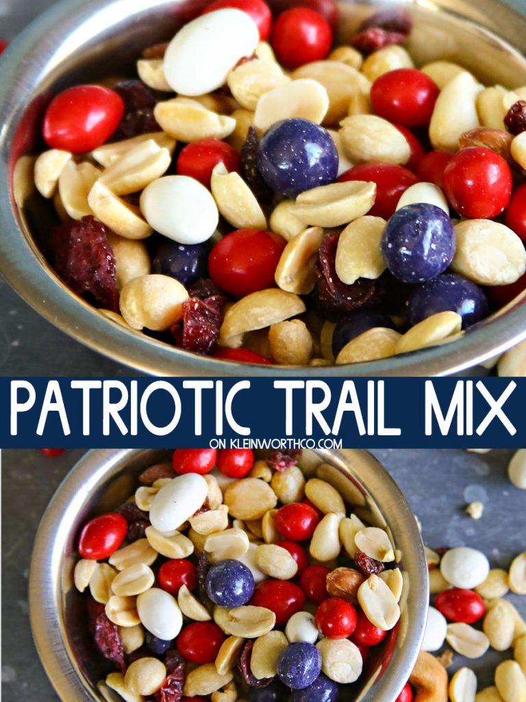 Patriotic Trail Mix Recipe